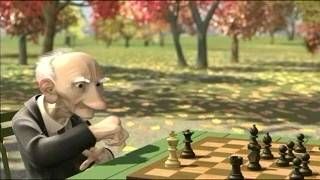 chess schach Jan Pinkava Geri's Game