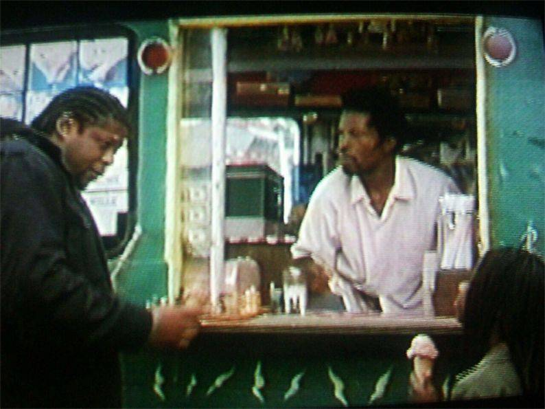 Forest Whitaker Isaac De Bankole chess schach Jim Jarmusch Ghost Dog - The Way Of The Samurai