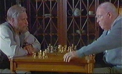 Charlton Heston chess schach Claudia Hoover Gideon