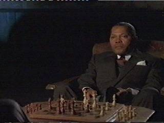 Laurence Fishburne Vanessa Williams chess schach Bill Duke Hoodlum