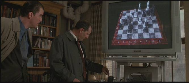Denzel Washington Ed O'Neill chess schach Philipp Noyce Bone Collector, The