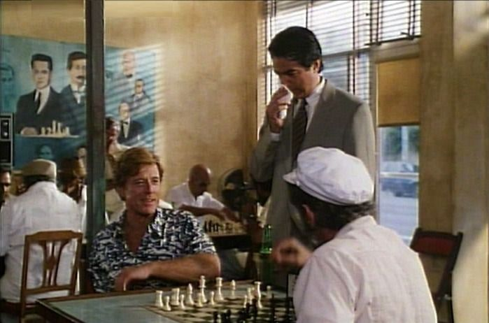 Robert Redford, Guillermo Gentile chess schach Jon Avnet Up Close & Personal